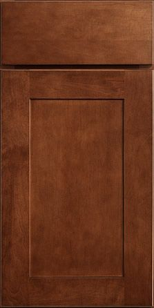 Cabinet Door Style and Sable Finish