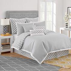 Jill Rosenwald Home Quatrefoil Comforter Collection