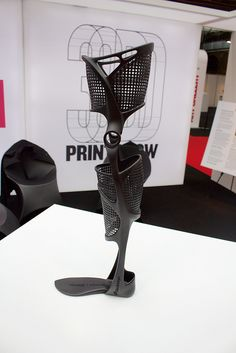 Or Steiner: 3D Printed leg brace 02 | Flickr - Photo Sharing!