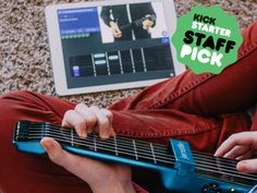 The jamstik+ is an amazing way to learn to play guitar. And, we're LIVE on Kickstarter right now! Check out our Staff Picked project for the full story.