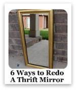 redo thrift mirror