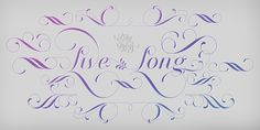 Love this typeface