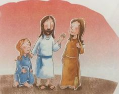 Kids Sunday School Lesson: Mary and Martha