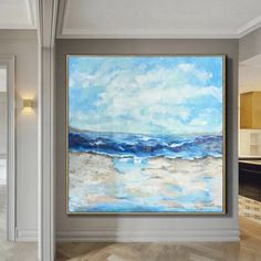 This abstract painting will adorn any modern interior and transform your home style! The artwork is perfect choice for living room, dining room or hallway. Each painting we create is one of a kind and it will be made special for YOU. * Handmade oil acrylic painting * Express shipping 3-5 days worldwide * Any size up to