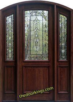 Arch top doors www.thedoorkings.com