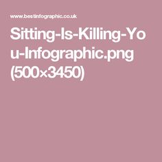 Sitting-Is-Killing-You-Infographic.png (500×3450)
