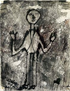 Jean Dubuffet, Personnage