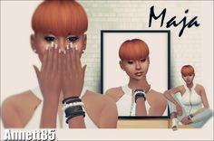 Annett's Sims 4 Welt: Model Maja