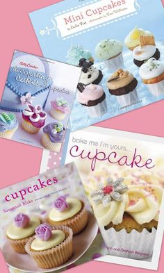 Books about cupcakes.....