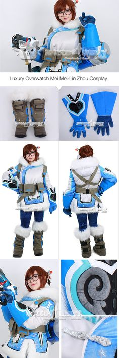 OW CG Mei Rise and Shine Polar Bear Pajamas Pants Summer Games Cosplay Costume