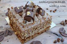 Vegan Dessert Recipes, Baking Recipes, Chocolat Gianduja, Beaux Desserts, Blog Patisserie, Mini Pastries, Square Cakes, Beautiful Desserts, Pie Cake