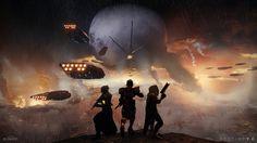 Typical Destiny 2 Fireteam