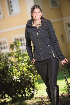 HKM Lauria Garrelli Naples Ladies Softshell Jacket — EQUUS