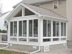 As soon as you tighten up your sunroom, remember to enjoy it! Your sunroom is just the same. Employing an expert to install or update your sunroom can assure Screened Porch Designs, Screened In Patio, Backyard Patio Designs, Screened Porch Decorating, Backyard Pergola, Outdoor Rooms, Outdoor Living, Outdoor Screen Room, Outdoor Patios