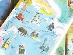 Revue mensuelle Tour du Monde. La Russie. Année : 1960.