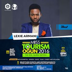 EVENT : Miss Tourism Ogun beauty pageant / Tourism Awards 2016 Grand Finale    Whatsapp / Call  2349034421467 or 2348063807769 For Lovablevibes Music Promotion  Miss Tourism Ogun auditions have come and gone with Abeokuta Sango-Otta and Ikeja Lagos State playing host to the screening exercises. Several contestants came and saw but after series of rigorous and unbiased screening by the judges only 25 contestants conquered. The screening process was further made open to the general public to…