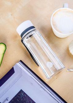Zdravá fľaša Equa Plain White 600ml - Equa fľaše 600ml - Tritánové zdravé fľaše - Eko fľaše | SolarBunny.eu