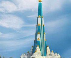 70 storey skyscraper temple for Lord Krishna in Vrindavan 11165255