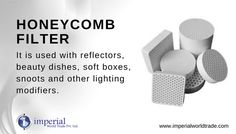 Honeycomb Filter! It is used with reflectors, beauty dishes, soft boxes, snoots and other lighting modifiers.
