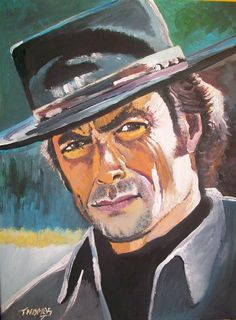One Of The Last Great American Heroes ....in acrylic by TOM