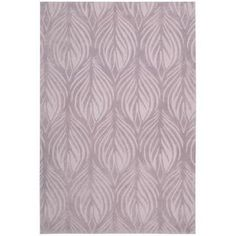 @Overstock - Nourison Hand-tufted Contours Lavender Rug (7'3 x 9'3) - White, feathery-looking leaves adorn this hand-tufted lavender rug. Additional carved accents add texture and depth to this rug without overpowering this softly colored piece. This area rug is the perfect way to add a bit of color to any room.  http://www.overstock.com/Home-Garden/Nourison-Hand-tufted-Contours-Lavender-Rug-73-x-93/5659893/product.html?CID=214117 $281.99