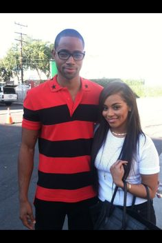 Jay Ellis and Lauren London
