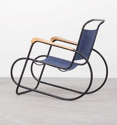 Anonymous; Lounge Chair Attributed to Auping, 1930s.