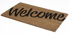 Non Slip Durable Coir Doormat 18 x 30 x 060 Welcome >>> Learn more by visiting the image link. (This is an affiliate link) #HomeDecorDoormats