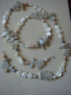 Angels & Moonbeams Stunning long Gemstone and by AMagpiesWeakness, £15.00