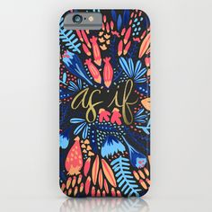 As If – Pink & Black phone cases by Cat Coquillette #iphone6 #phonecases