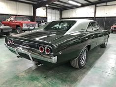 For Sale: 1968 Dodge Charger in Sherman, Texas Dodge Charger For Sale, 1968 Dodge Charger, Green Metallic Paint, Dodge Models, Us Cars, Future Car, Muscle Cars, Classic Cars, Automobile