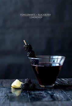Pomegranate + Blackberry Lemondrop Recipe   Apartment 34