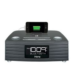 #iHome NFC Bluetooth Stereo FM Clock Radio and #Speakerphone with #USB Charging - Gray  #holidaygifts #giftideas