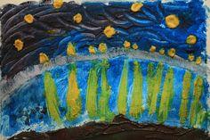 Kids Art study: Van Gogh - great idea from @art4littlehands