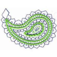 Buy Individual Embroidery Designs from the set Paisley
