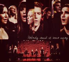 """""""The Scientist"""" - 4.05 """"The Break Up""""  Sang at the end of this super sad episode:(  Rachel dumped Finn, Wemma were having a major disagreement, Santana broke up w/ Brit due to long distance and her """"emotional"""" affair w/ fellow U of Louisville ugly lesbian Eileen, and, Blaine cheated on Kurt several times w/ the never seen Eli C:O  I believe Kurt officially dumped Blaine in 4x06, started talking again on the phone in 4x08, became just friends, if that, in 4x10, made out and slept together in…"""