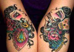 Gypsy Tattoos .. For richer and for poorer ...in sickness an in health