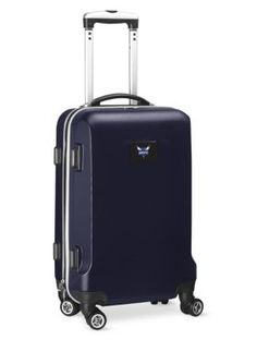 Denco  Charlotte Hornets 20-In. 8 Wheel Abs Plastic Hardsided Carry-On - Navy - One Size
