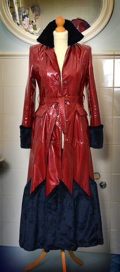 PVC raincoat for colder wet days. by Shyshine on Etsy, €200.00