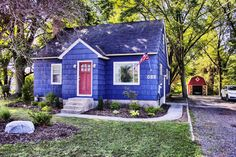 """Check out this NEW LISTING! Can be utilized as RESIDENTIAL PROPERTY or you could use it for COMMERCIAL PURPOSES - can you imagine how cute this would be for a SMALL BUSINESS OFFICE? You are not going to believe how incredible the inside is - and the bathroom will blow you away! #LakeshoreLindsey MLS# <a href=""""tel:15044475 - 688"""">15044475 - 688</a> E Lakewood Boulevard, Holland, MI 49424 - Lake Michigan Waterfront & Lakeshore Realtor, Holland, Grand Haven Homes for Sale"""