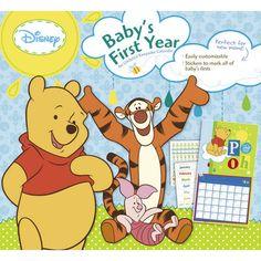 Winnie the Pooh Baby Boy's 1st Year Undated Wall Calendar