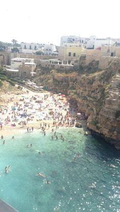 Wonderful landscape from Polignano a mare ☀️