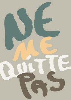 Ne Me Quitte Pas - Na Casa da Joana