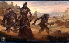 Pledge your loyalty to the Daggerfall Covenant with this magnificent new wallpaper from TESO !