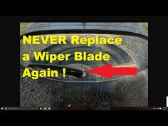 how to restore headlights permanently youtube diy never replace a wiper blade again amazing youtube sciox Choice Image