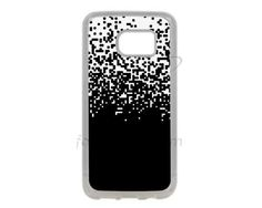 Cover Galaxy S7 in Silicone Little squares