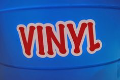 Layered vinyl design