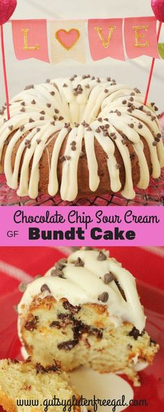 Do you love cake? I love cake. It used to be my most favorite dessert. Cookies now share that spot, but there is just something about a delicious piece of cake. Chocolate Chip Bunt Cake, Gluten Free Chocolate Chip Cookies, Keto Chocolate Chips, Chocolate Pies, Chocolate Croissant, Chocolate Cream, Gluten Free Bundt Cake Recipe, Pound Cake Recipes, Gf Recipes