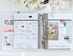 Finished Planner Pages (Heidi Swapp)