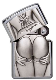 Zippo Stocking Girl Lighter. I have got to get me one of these!